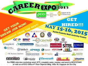 BPO Job Fair, BPO Job Fair Cagayan de Oro, Online Jobs, Cagayan de oro jobs, job fair, business process outsourcing