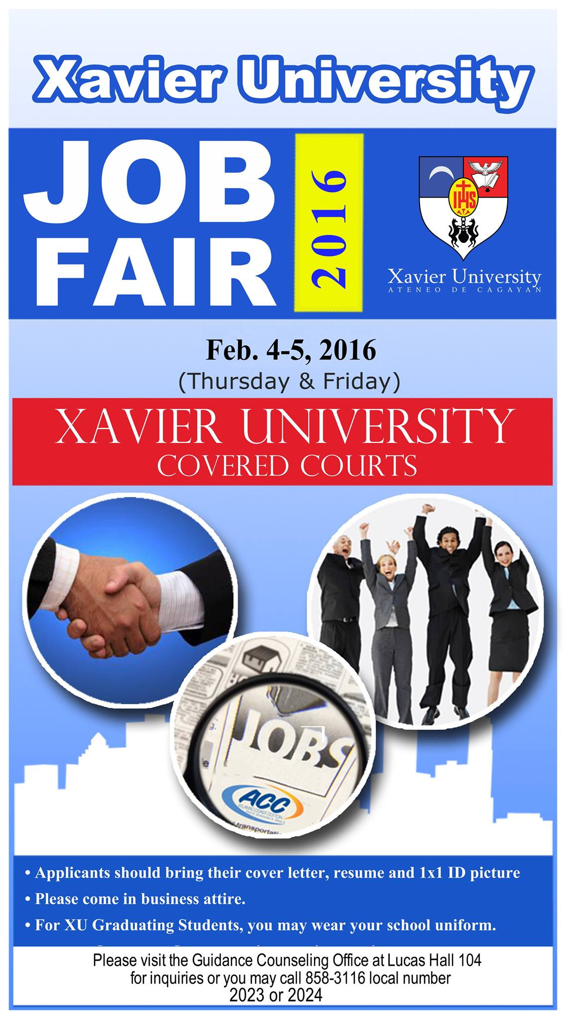The Xavier University Job Fair 2016